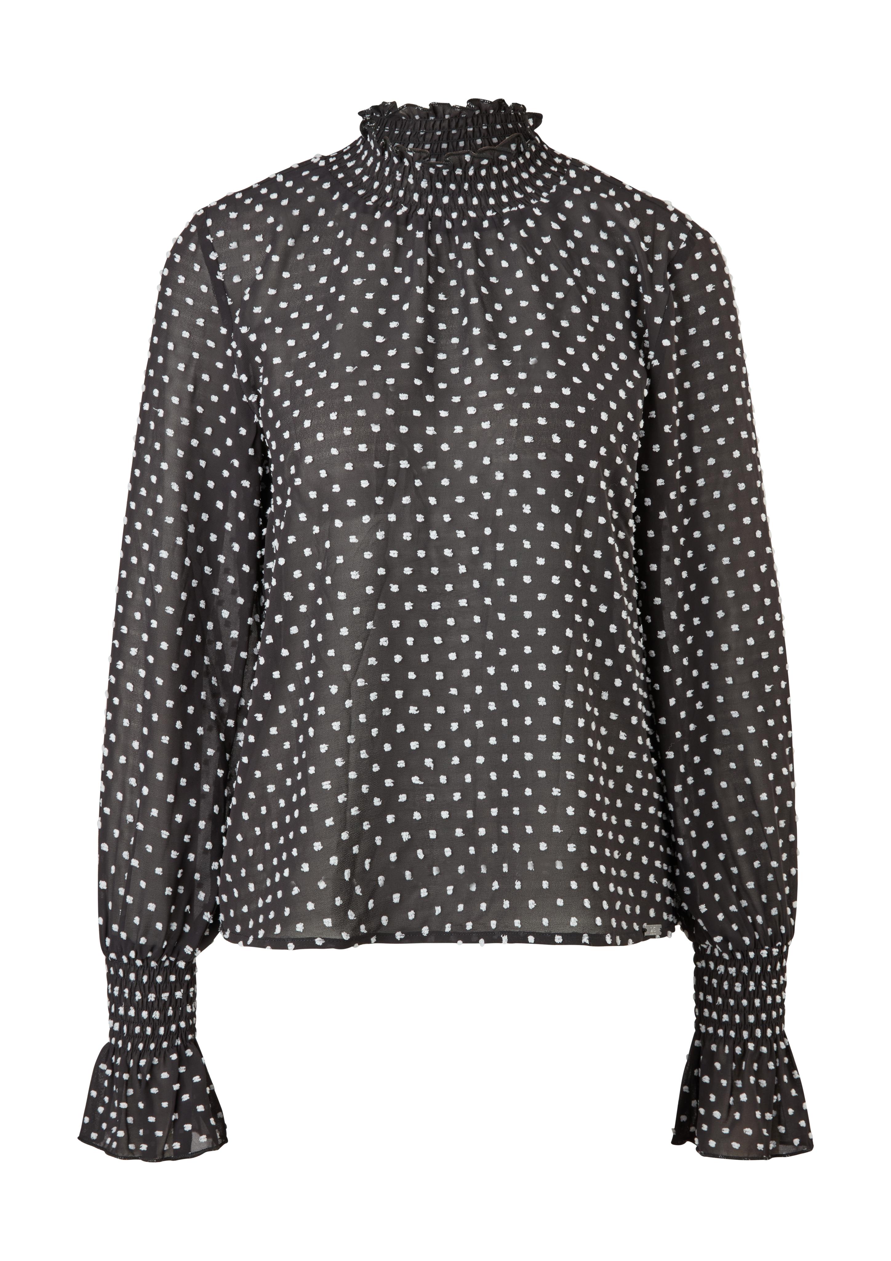Bluse QS-designed, gepunktet