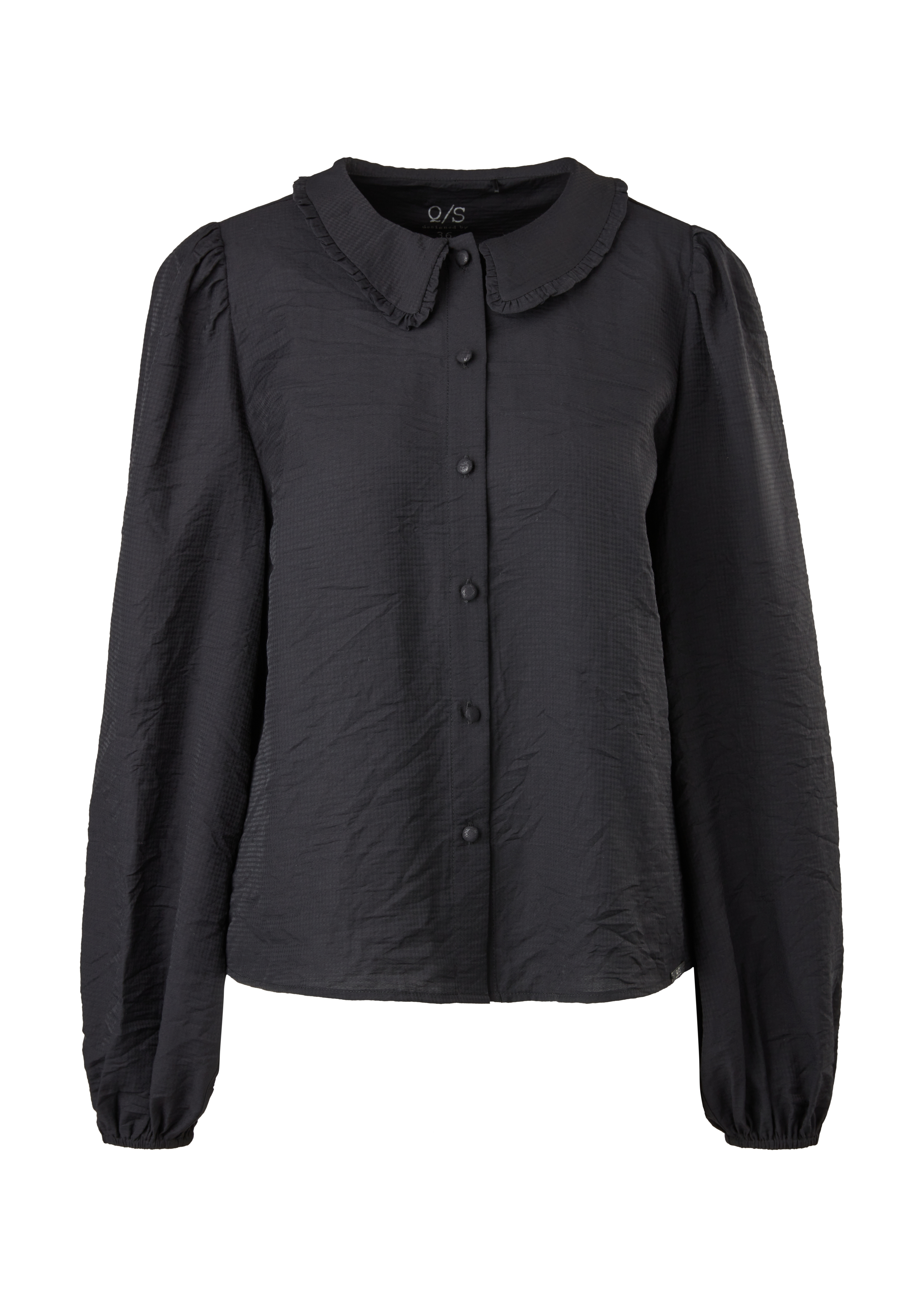 Bluse QS-designed, schwarz